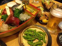Seafood Izakaya Sakanaya-dojo Sendainishiguchi