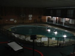 Pool was adequate; available 8 am - 10 pm