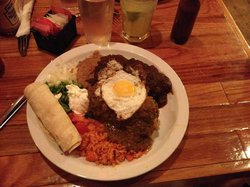 Chile Relleno with Fried Egg