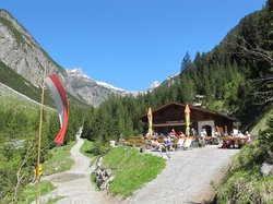 Cafe Uta - recommend the hike up here from the hotel