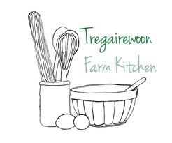 Tregairewoon Farm Kitchen