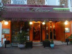 L'OLIVIER DU MAROC - Devanture du restaurant