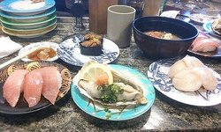 Sushi-Go-Round ( Kaitensushi ) Morita Nakaminato 1st