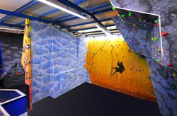 Wolf Mountain Indoor Climbing and Caving Centre