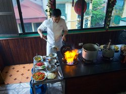Orchid Cooking Class