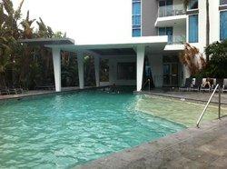 Clean refreshing pool
