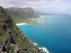Looking up coast towards Waimanalo