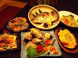 Horse-Meat Sashimi & Higo Beef Amakusa Chokuso Local Fish Ryosai