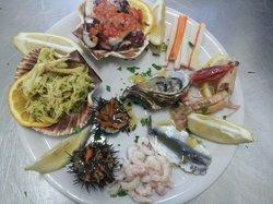 """Antipasti pesce """"Trinacria """""""""""