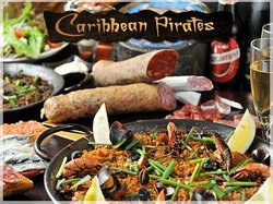 Spanish Cuisine Caribbean Pirates Shinjuku