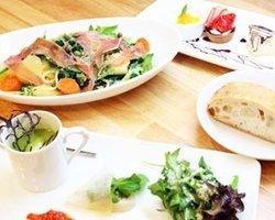 Organic vegetables dining/Taverna