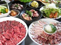 Yakiniku (Grilled meat) Ya Tonchantei Kawasaki