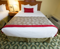 The Superior Two Queen Room at the Ramada Limited Santa Barbara