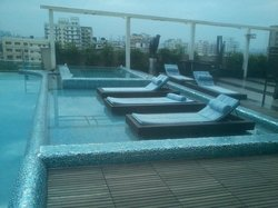 Pool Side on Terrace
