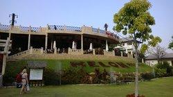 Vooraanzicht van het hotel