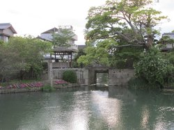 Yanagawa Castle Moat Water Gate