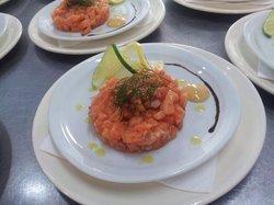 Tartare de saumon façon l adresse