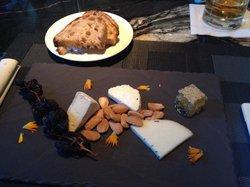 Cheese plate at bar 888.