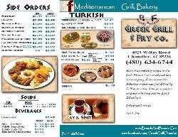 Turkdish Mediterranean Cuisine