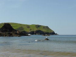 Hope Cove Beach