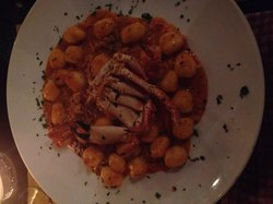Gnocchi with fresh crab