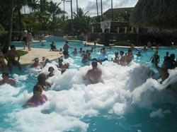 Foam pool party was a blast!