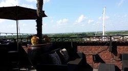 Outside - the terrace