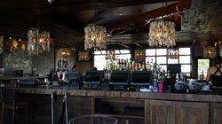 Inside - the bar
