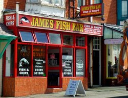 ‪James' Fish Bar‬