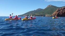Kayak Théoule sur Mer