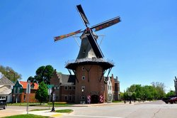 Historical Village, Vermeer Windmill & Scholte House