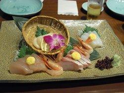 sashimi set plate