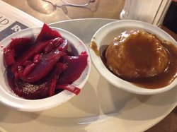 Pickled Beets and Mashed Potatoes