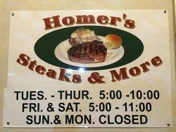 Homer's Steakhouse & More