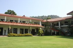 The resort's main building