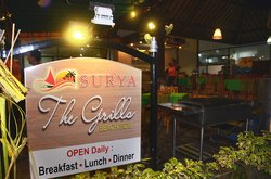 Surya The Grills Beachside Restaurant