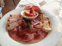 Mixed meat platter