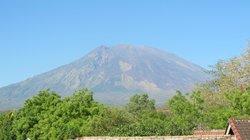 View of Mount Agung Tulamben