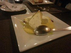 sobremesa: Mousse de caipirinha