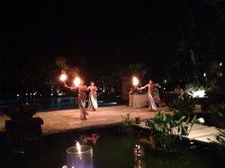 Traditional dance at Soku Saturday night