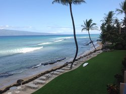 looking northward from our lanai, 304.