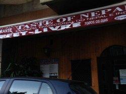 Restaurante Taste Of nepal