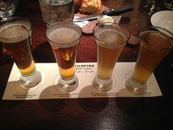Very cool beer flight