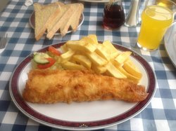 Now that's fish and chips