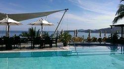 Pool/ Breakfast Area at Cape Sienna