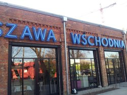 Warszawa Wschodnia Restaurant by Mateusz Gessler