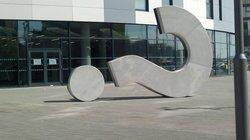The Question Mark Sculpture