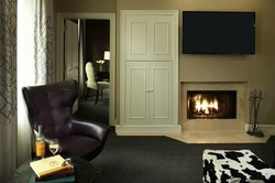 Chateau Ste. Michelle Suite Fireplace