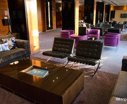 Lobby at the AC Hotel Malaga Palacio by Marriott