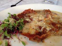 Veal Saltimboca with Parma ham & Mozzarela